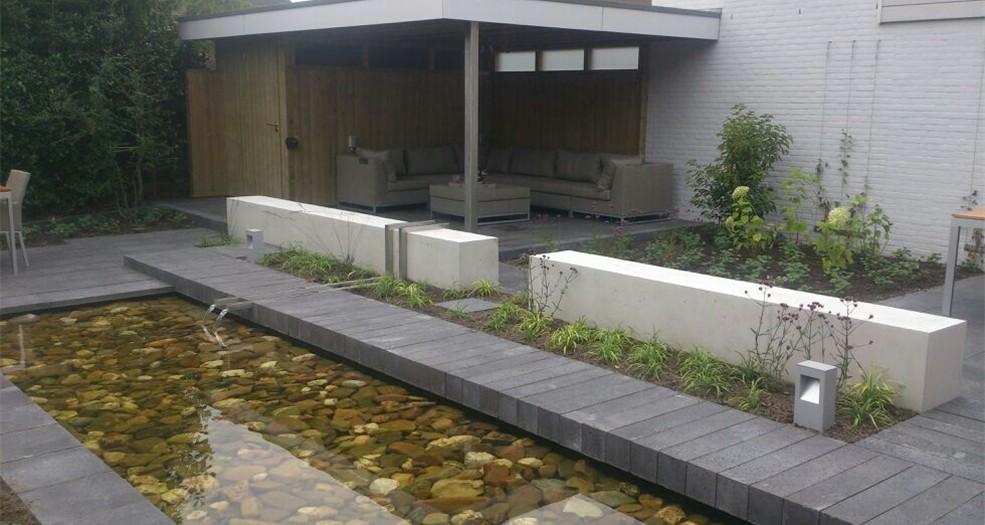 Plan10 moderne stadstuin projecten erik lens for Tuinarchitect modern strak
